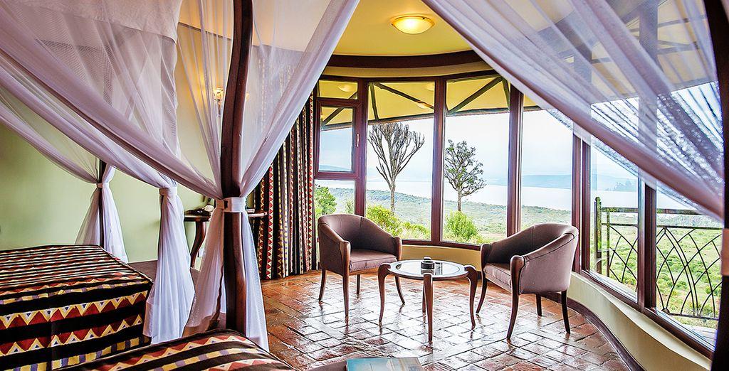 Voor rustige nachten (afgebeeld: Lake Nakuru Sopa Lodge)