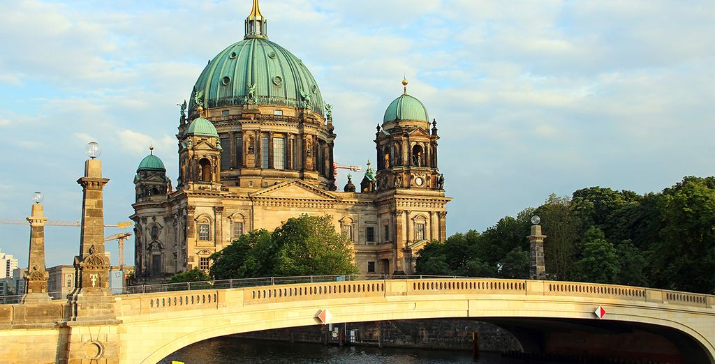 De vele bekende gebouwen