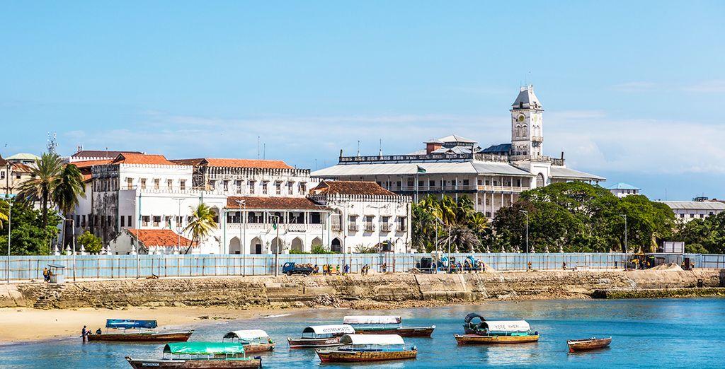 Trek er vervolgens op uit op Zanzibar