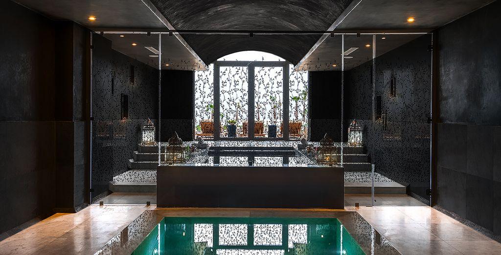 Wanneer het hotel al indruk op u heeft gemaakt, bezoek dan nog even de Spa