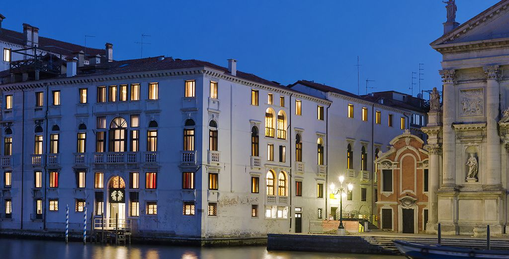 Met de ideale ligging in Venetië