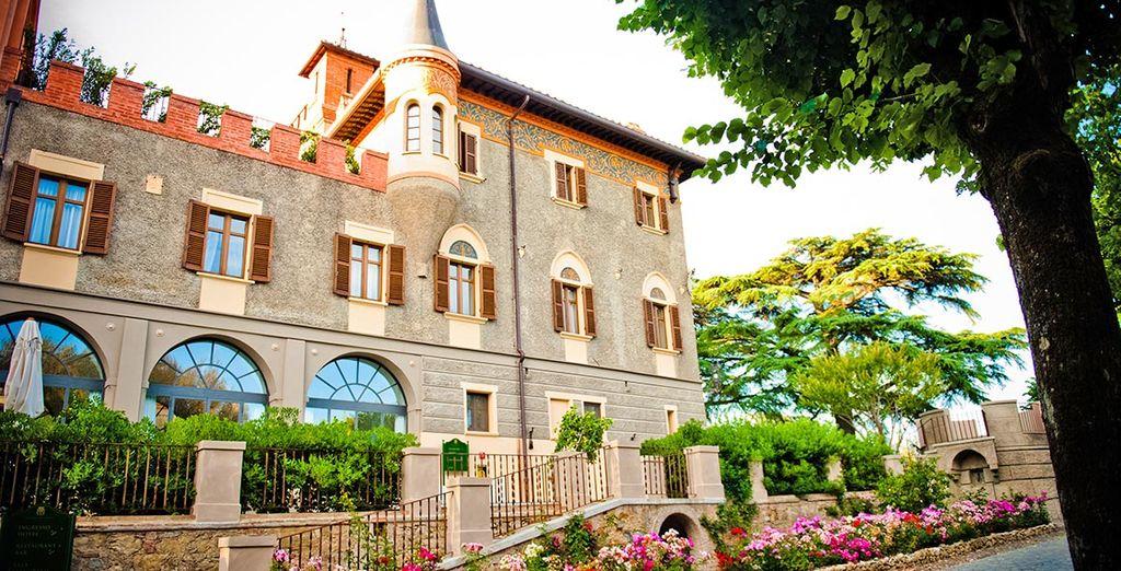Een romantisch hotel, lid van Relais & Chateaux...
