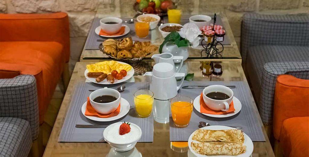 Met een lekker ontbijt