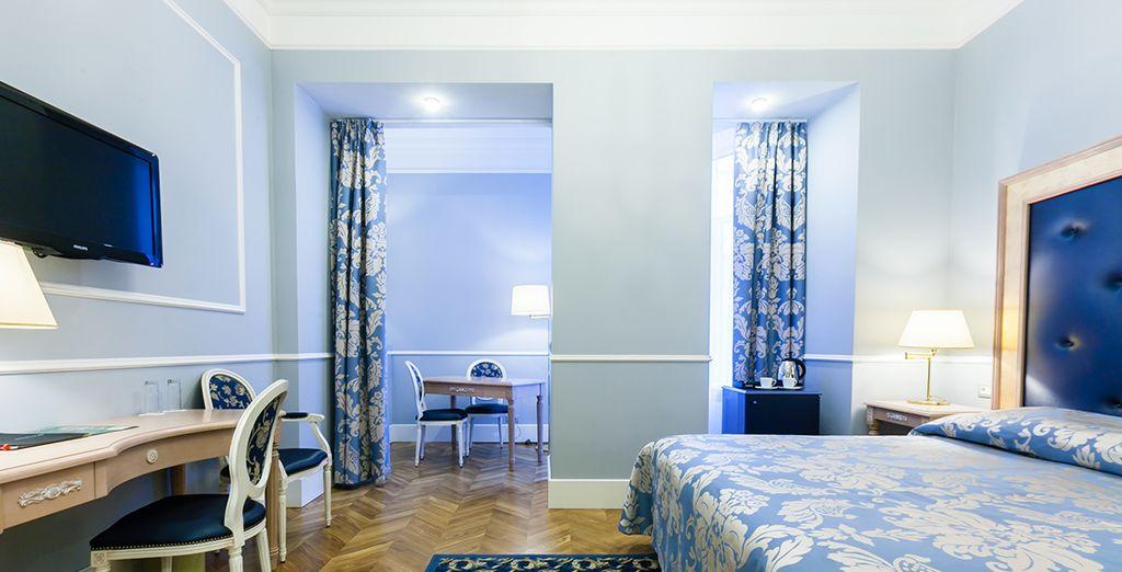 U verblijft in een comfortabele Superior kamer