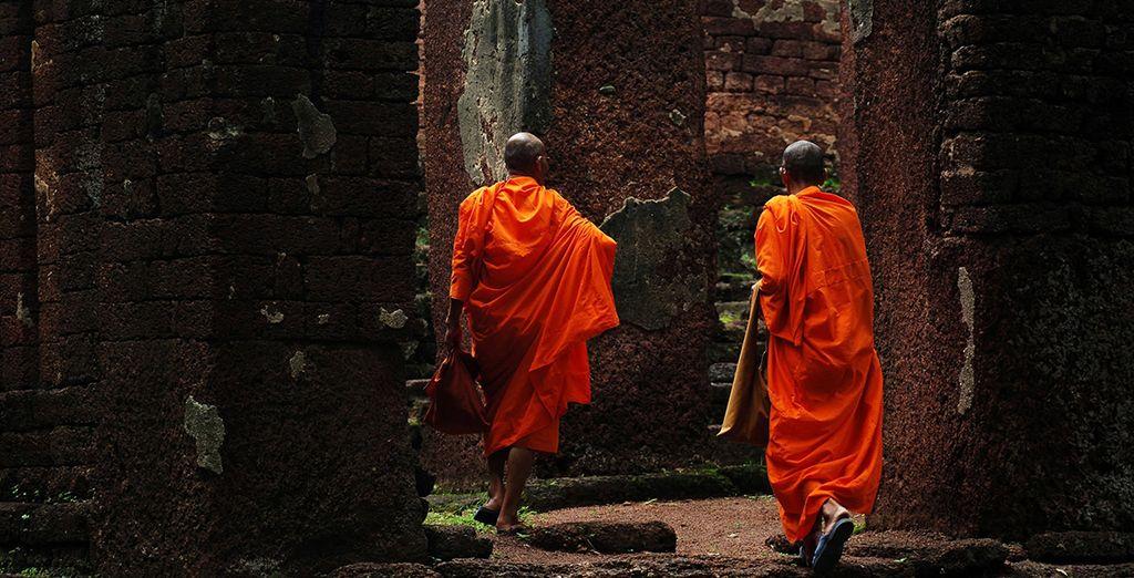 Bezoek de tempels en monumenten