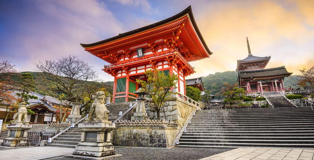 En Kyoto, de oude hoofdstad