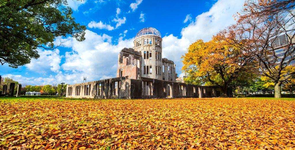 Hiroshima, internationaal symbool van de vrede