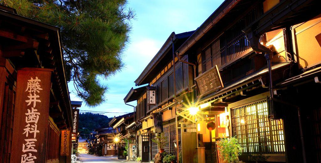 Takayama en historische monumenten