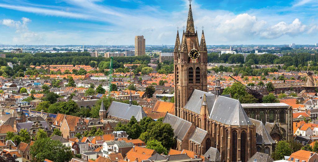 Bezoek ook de stad Delft