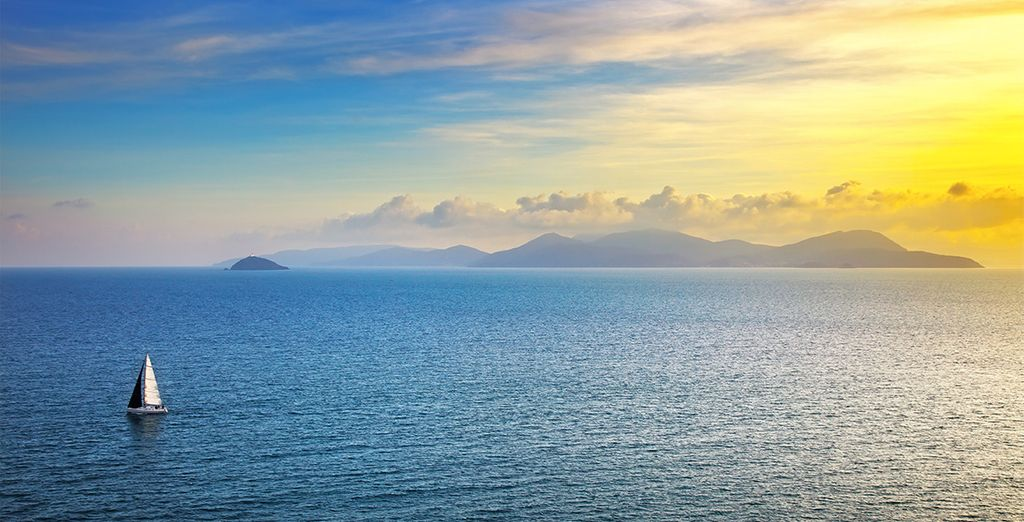 En geniet van de schitterende omgeving aan de Toscaanse kust