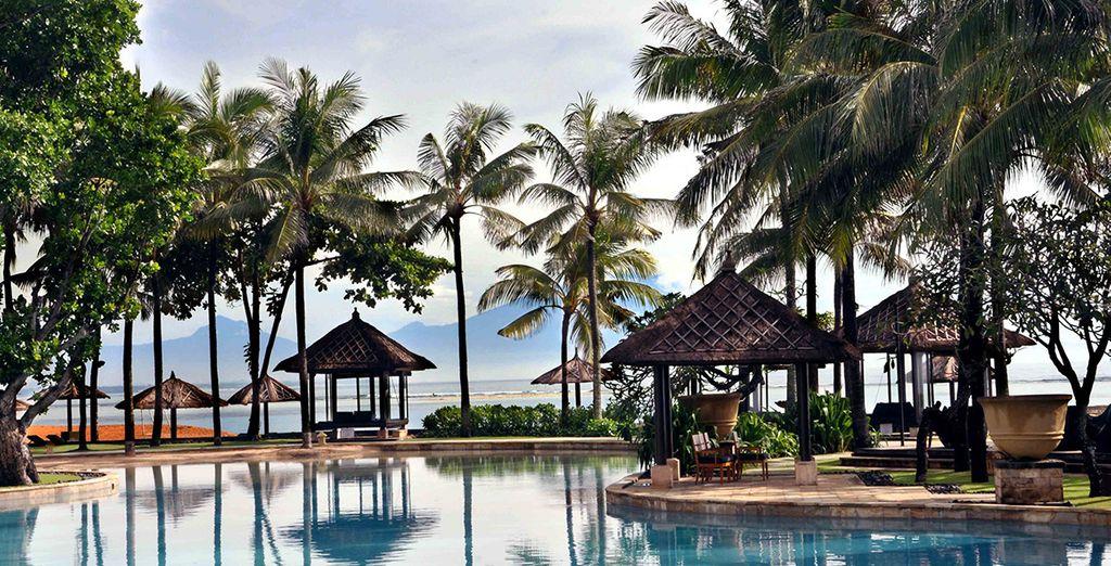 In het exotische Conrad Bali 5*