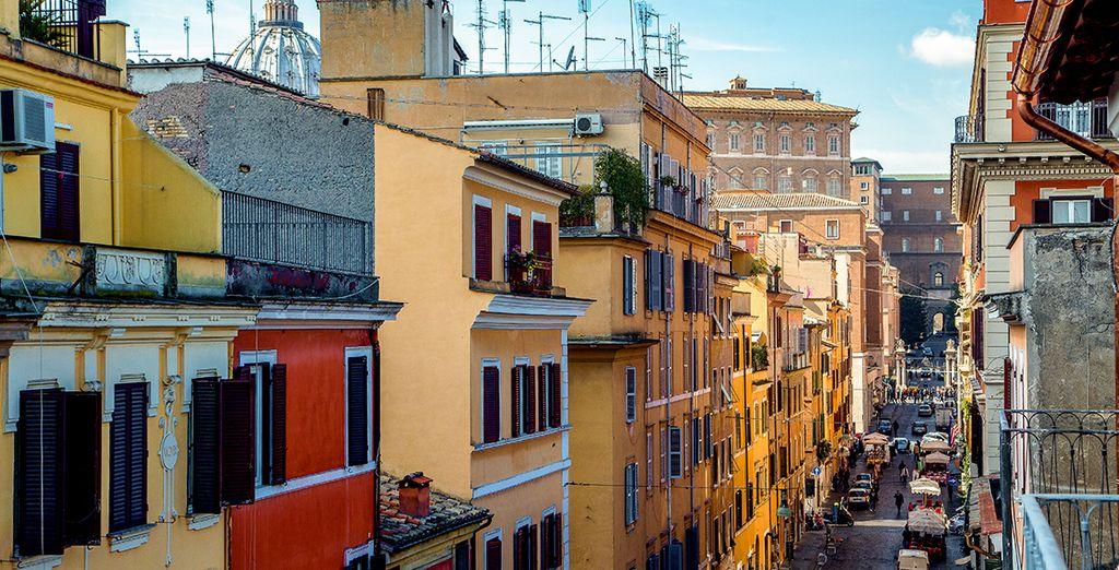 Voor uw ontdekkingstocht door Rome