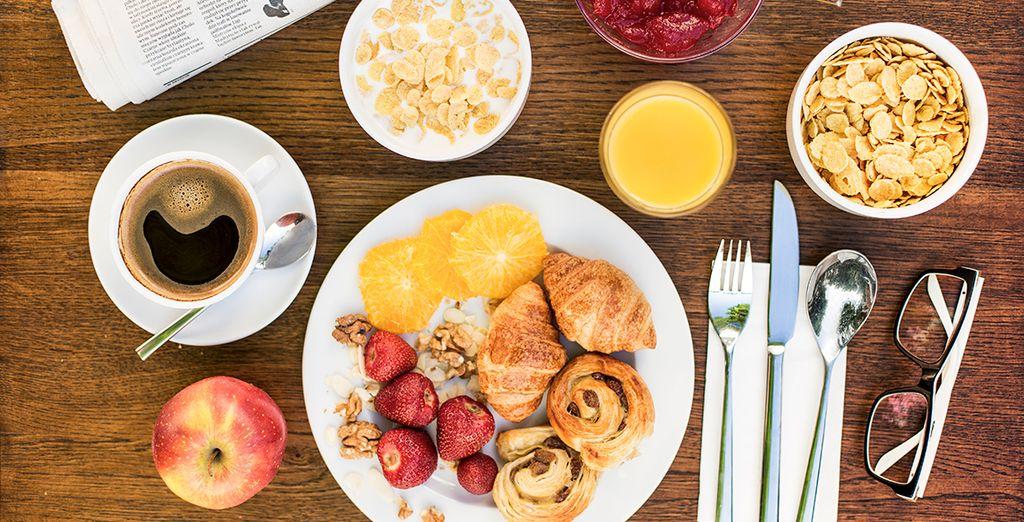 Geniet elke ochtend van een heerlijk ontbijt