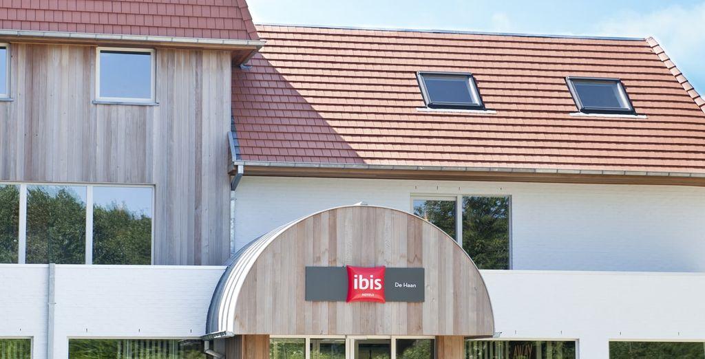 Welkom bij Hotel Ibis de Haan, op 8 minuten lopen van het strand