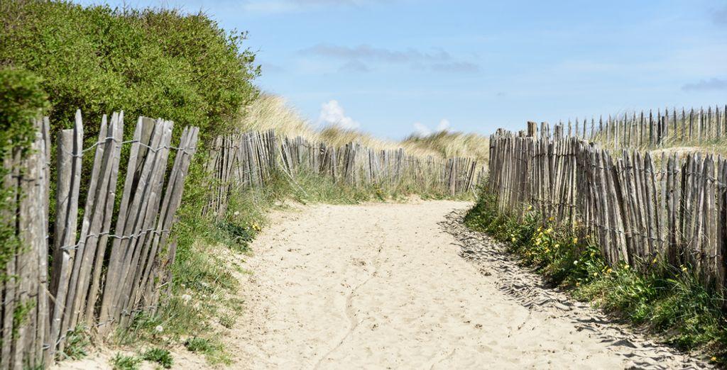 Zin om even lekker uit te waaien aan het strand?