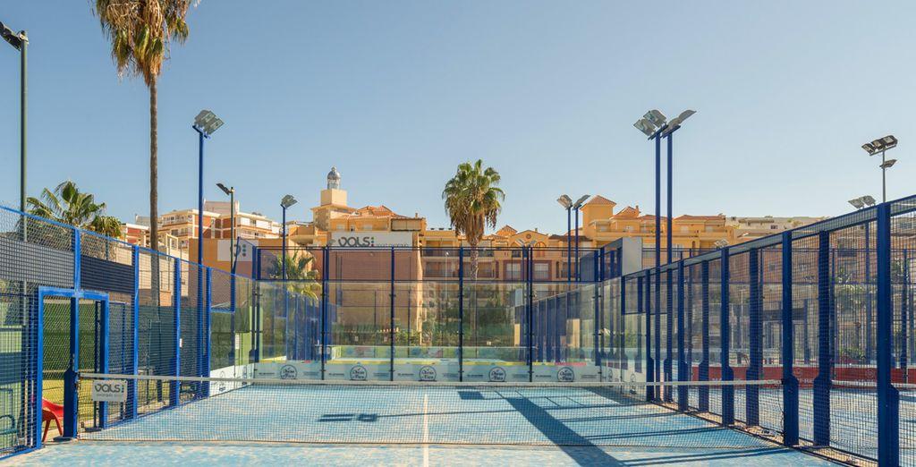 Of een tennismatch