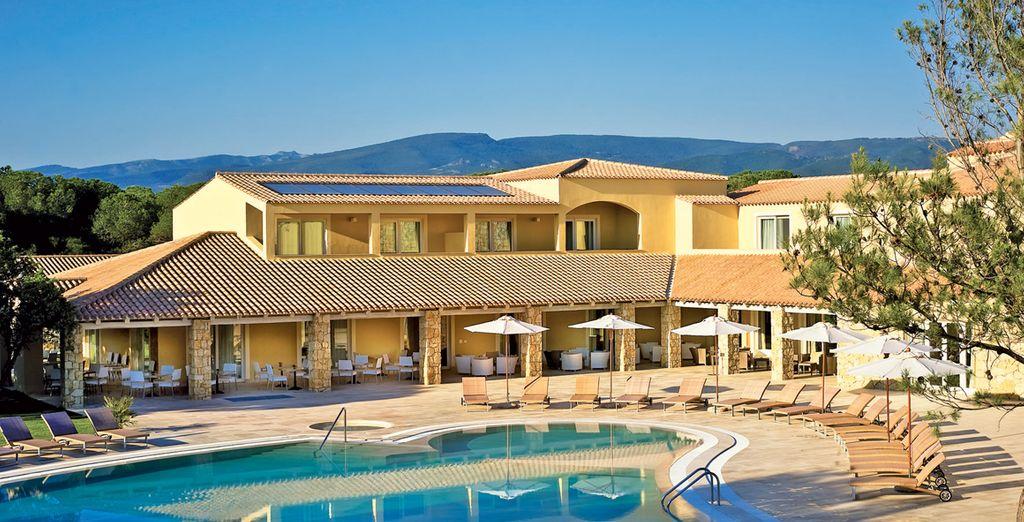 In het mooie Golf Hotel Is Arenas