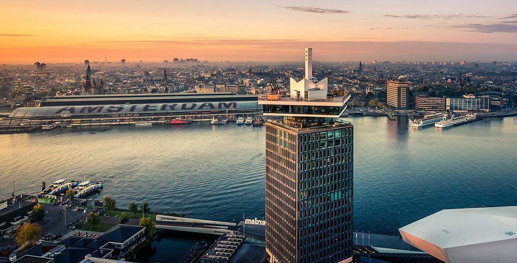 Geniet van een bijzonder uitzicht vanop de iconische A'DAM Toren