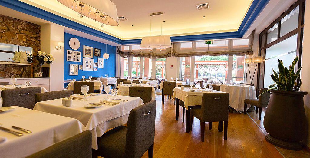 Gastronomie bij restaurant Rocca
