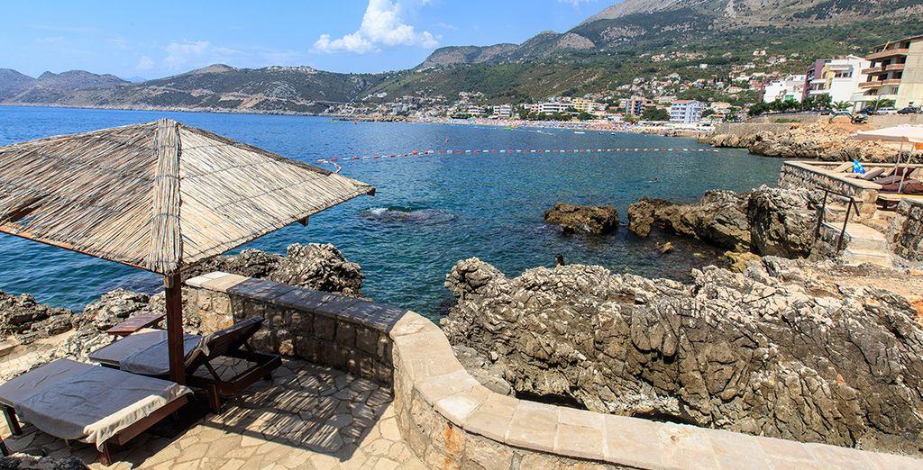 Kom tot rust op de zonnige terrassen