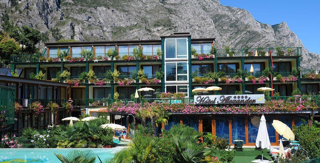 Waar u verblijft in het schitterende Hotel Alexander