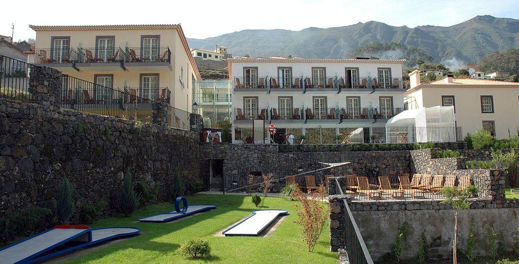 Het hotel biedt is de ideale plek om heerlijk uit te rusten