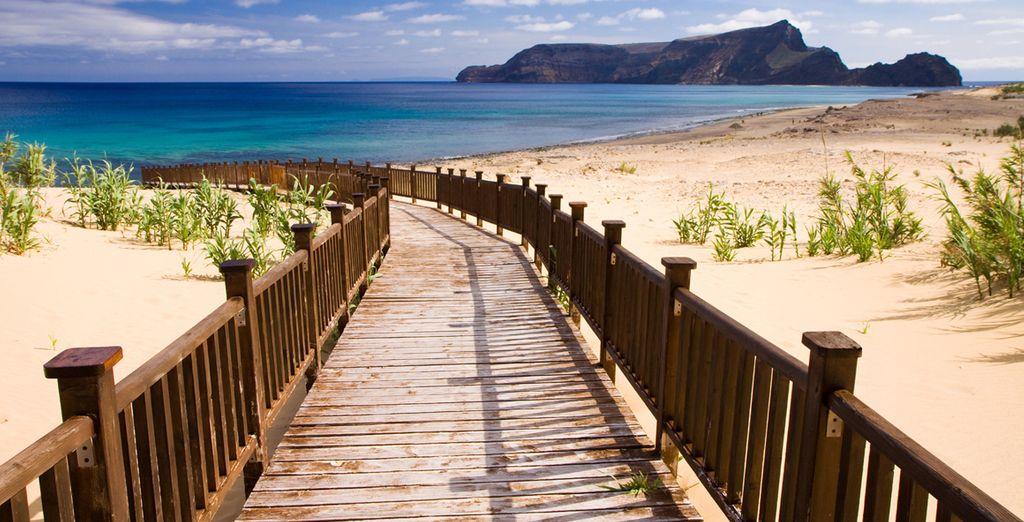 De stranden van Madeira