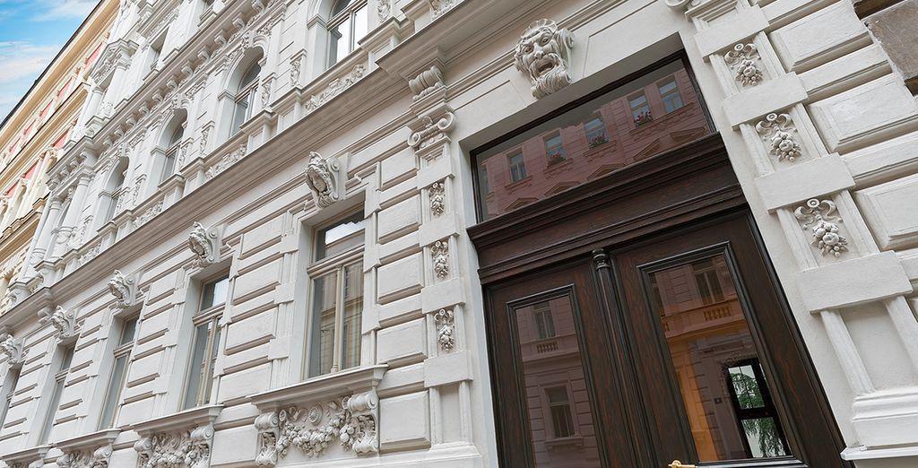 Welkom bij het H7 Palace in Praag, het eerste appart-hotel van de stad!