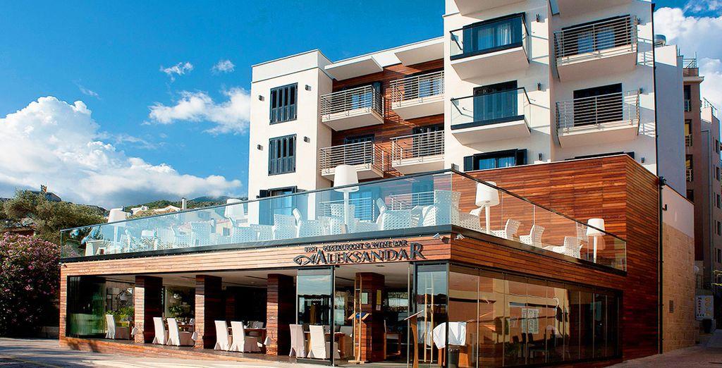 Welkom in het Aleksandar Rafailovici 4* hotel!