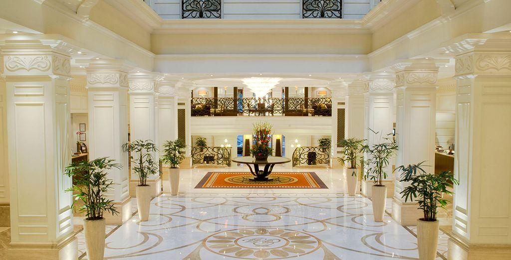 Waardeer het elegante en verfijnde interieur