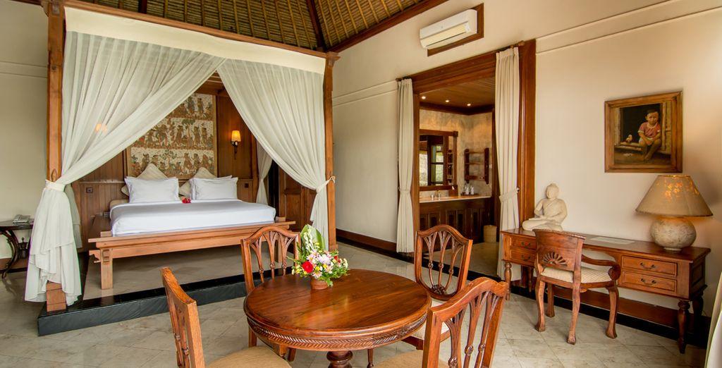 Waarbij Balinese elementen in het oog springen