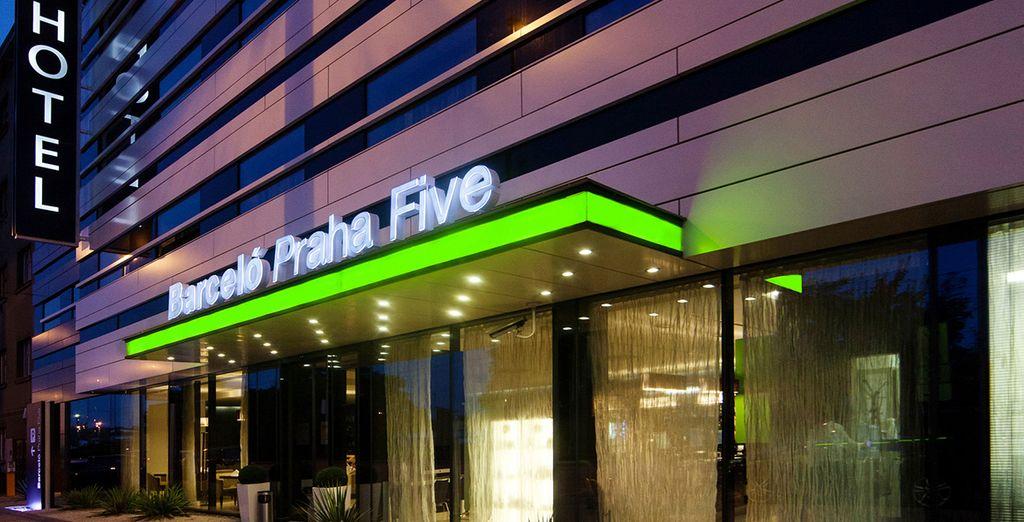 Een moderne en stijlvol hotel