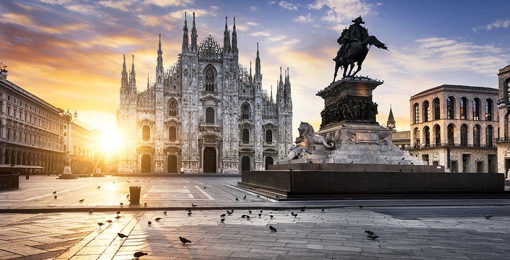 Ontdek Milaan met zijn kunst, architectuur en natuurlijk mode
