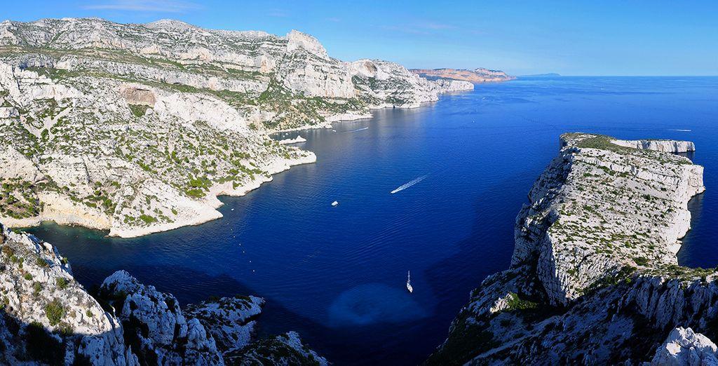 Bezoek de prachtige calanques rondom Marseille