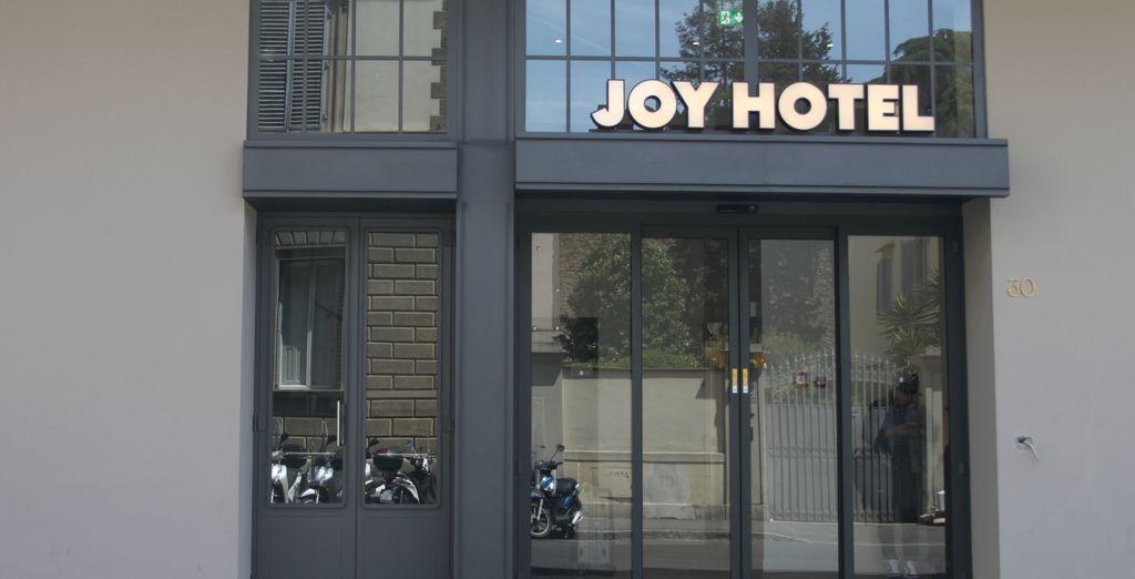 Welkom in C-Hotels Joy 4*