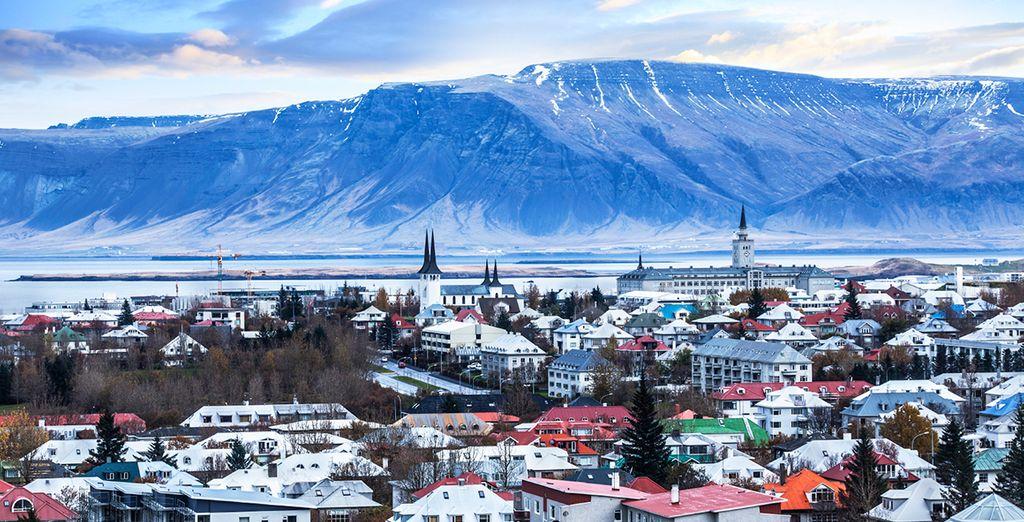 En een ontdekking van de hoofdstad Reykjavik