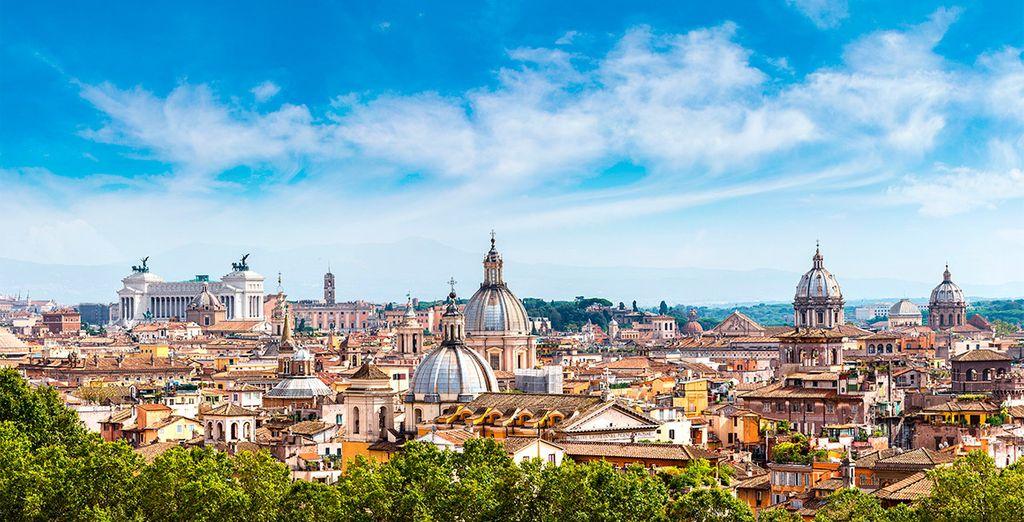 Wij wensen u een fijn verblijf in Rome!