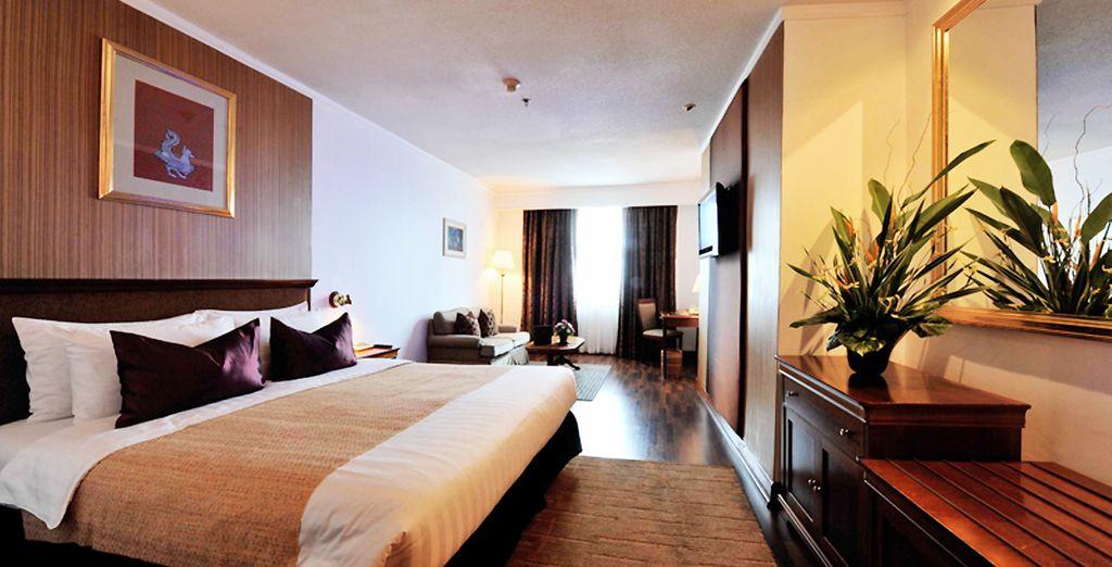Verblijf in uitstekende hotels