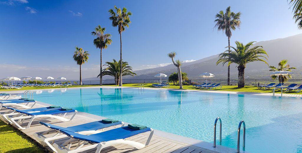 Ga er even tussenuit op het zonovergoten Tenerife
