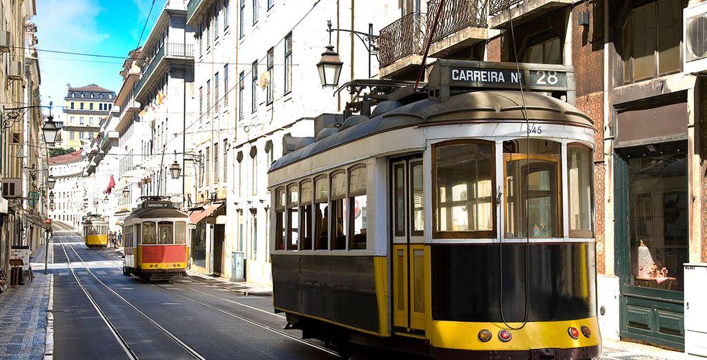 In de Portugese hoofdstad Lissabon