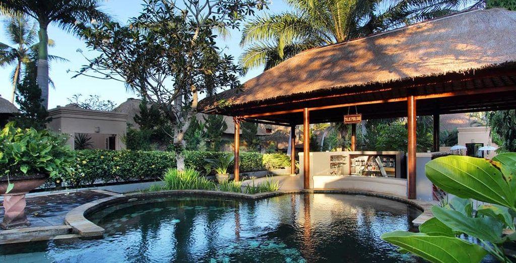 Een idyllisch 4* resort in Ubud