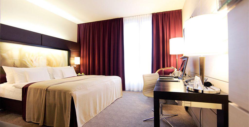 Welkom in het Lindner Hotel Am Belvedere