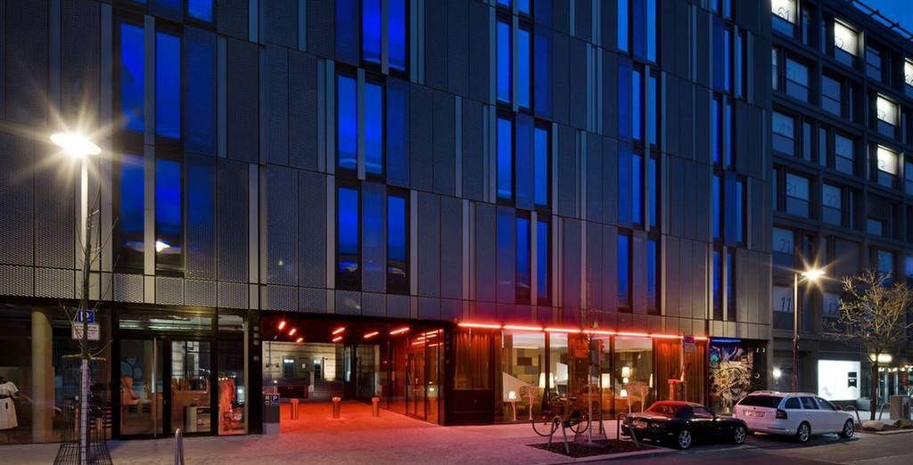 Waar u verblijft in een stijlvol en modern 4* hotel