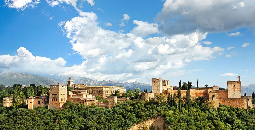 Bewonder de schoonheid van het Alhambra