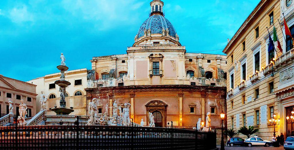 Palermo, de hoofdstad van Sicilië, is een historisch juweeltje
