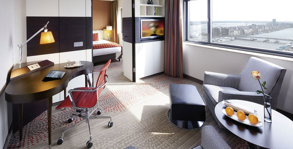 Of upgrade naar een Junior Suite