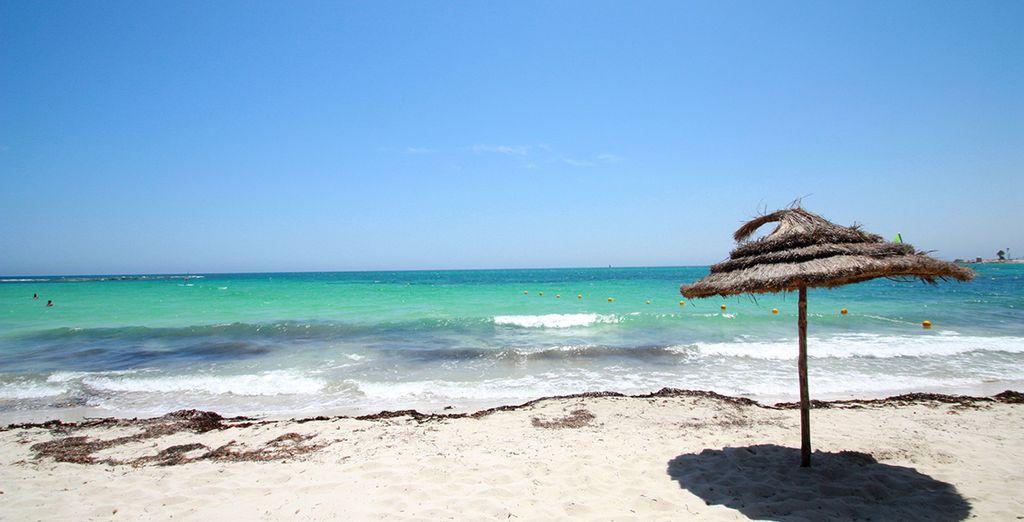 Met zijn idyllische stranden