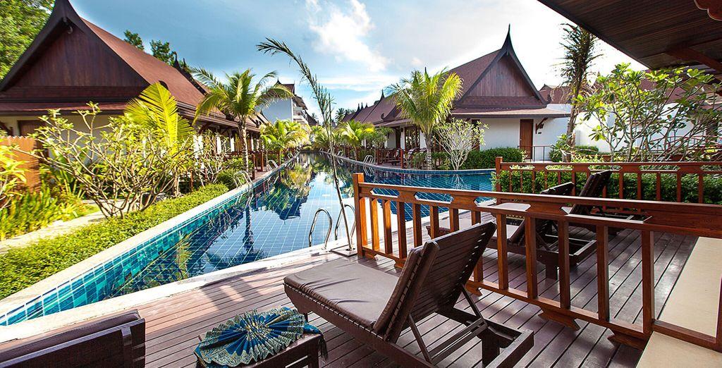 Ontdek 3 verschillende hotels en start in het T-Villa hotel 4*