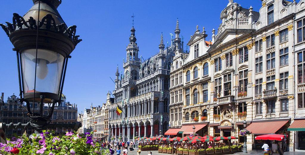 Wij wensen u een heel fijn verblijf in de Belgische hoofdstad!