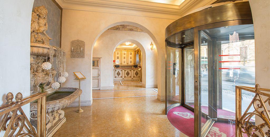 Welkom in het Romanico Palace Hotel 4*